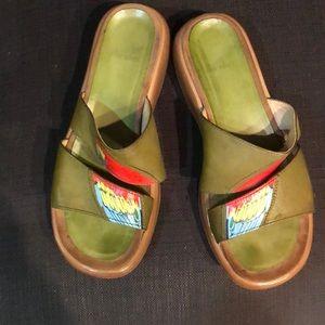 Dansko sandals!